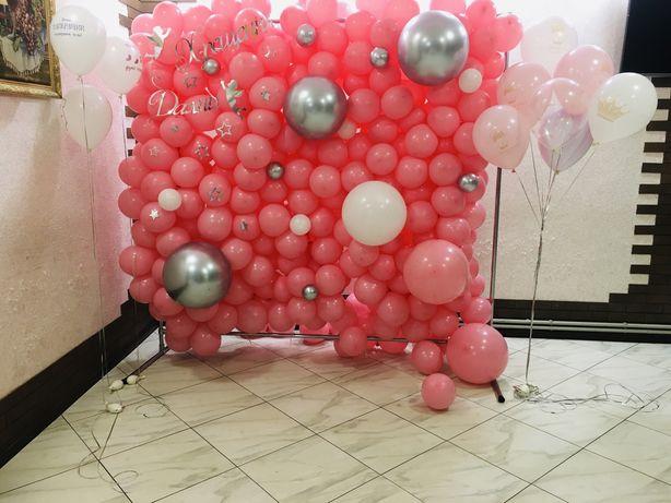 Стінка з кульок на ваше свято