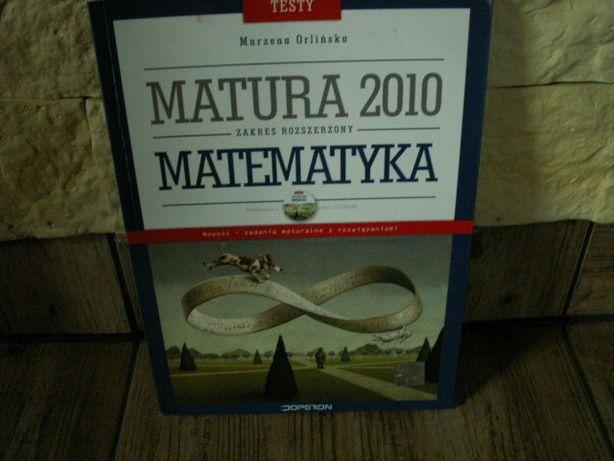 Matura 2010 Matematyka testy OPERON Orlińska