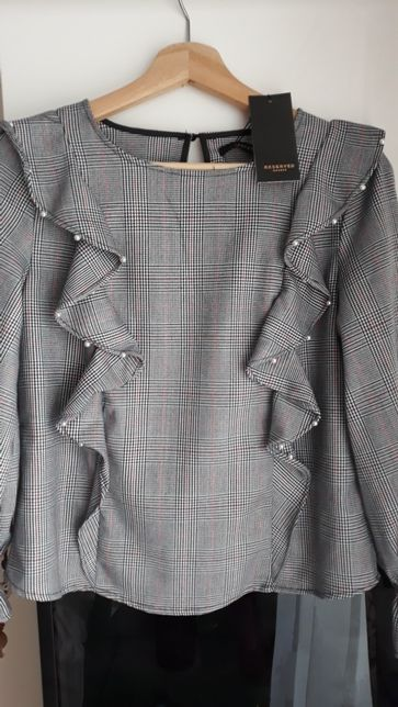 NOWA bluzka Reserved 36 S kratka