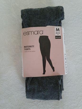 Szare rajstopy ciążowe ESMARA 40/42 M L