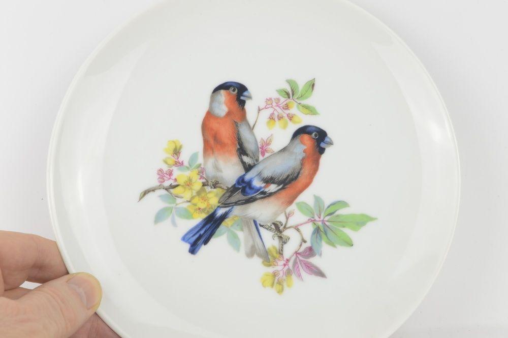 Talerz porcelanowy sygnatura Kaiser ptaszki gile kolekcjonerskie Olsztyn - image 1
