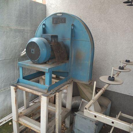 wentylator promieniowy centralny wyciąg dmuchawa 5,5 kw-15kw