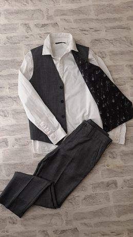 Next 140-146 см. Стильный костюм тройка.