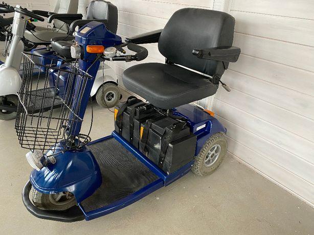 skuter inwalidzki elektryczny wózek dla seniora STERLING BEC dowóz