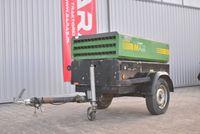 Kompresor śrubowy - spalinowy IRM AIR Silnik Kubota (250204)   BARAS