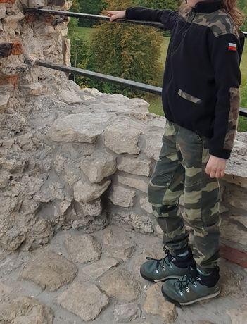 Polar moro 140 plus jeansy reserved wojskowy militarny