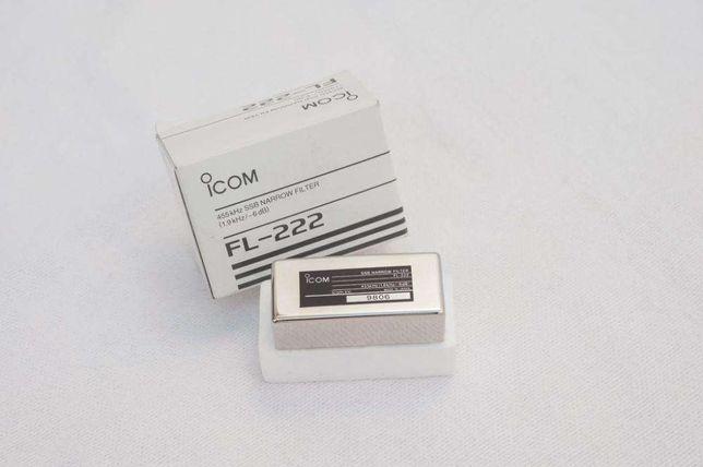Vendo Filtro Icom FL-222-Radioamador