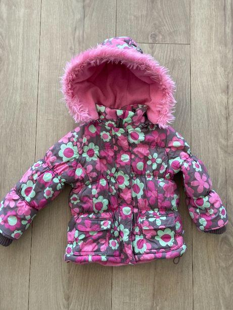 kurtka przejściowa dla dziewczynki 98 cm 2-3 lat wiosenno jesienna