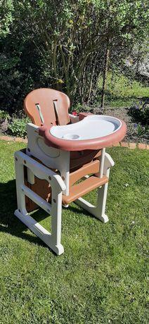 Fotelik do karmienia i zabawy 3w1 (Baby Design)