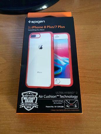 Etui iPhone 7 / 8 Plus Spigen Ultra Hybrid 2 Air Cushion