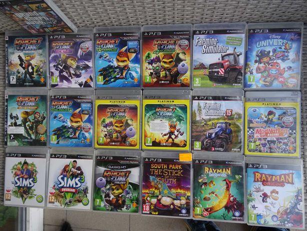 Gra Ps3 dzieci Ratchet Lego Sims Minecraft Modnation Universe Litte
