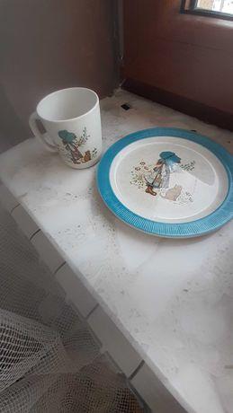 Zestaw porcelany holy starocie