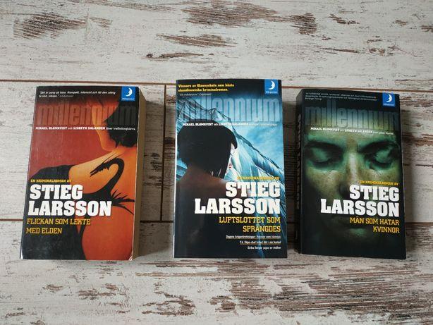 Stieg Larsson po szwedzku