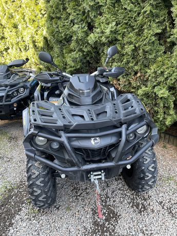 Can-Am Outlander 1000 XTP 2018 homologacja Fvat