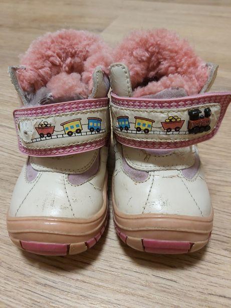 Зимние ботинки 18-20 р-р