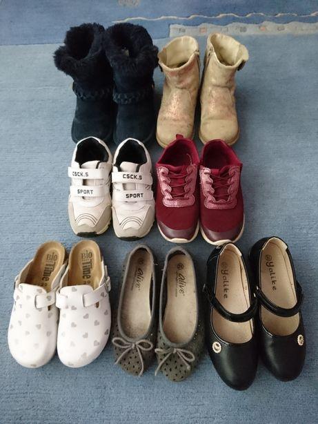 Пакет обуви для девочки 28-29 размера