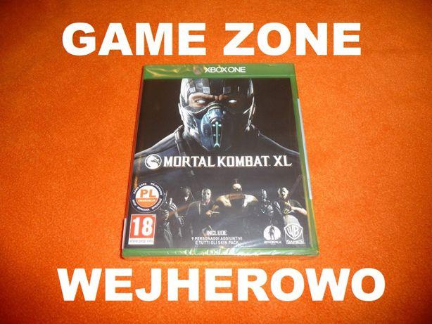 Mortal Kombat XL Xbox One + S + X = PŁYTA PL Wejherowo FOLIA