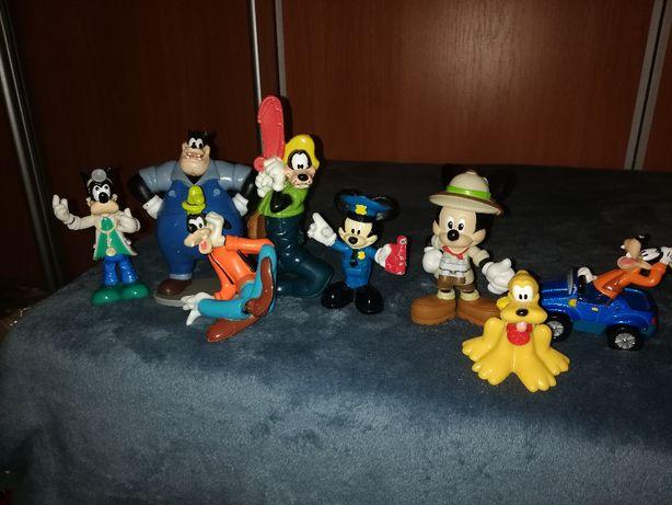 Myszka Miki figurki oryginał 8 sztuk