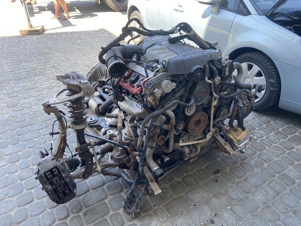 Audi q7 подрамник патрубок рычаг полуось стойка поворотный кулак цапфа