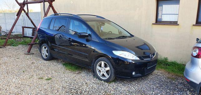 Mazda 5 sprzedam lub zamienie na qada bądź busa