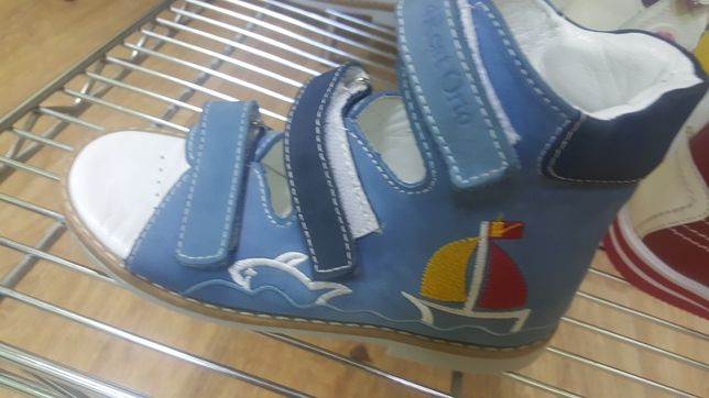 Новые кожаные ортопедическая обувь в ассортименте