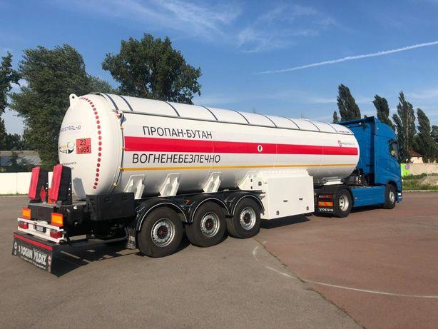Полуприцеп газовоз цистерна для сжиженных газов LPG