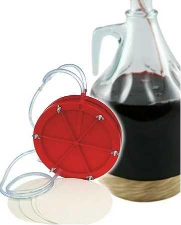 Фильтр для вина гравитационный , ручной . FERRARI (Италия)