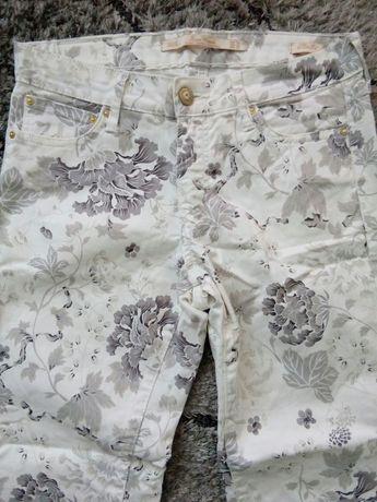 Spodnie Zara, kwiaty