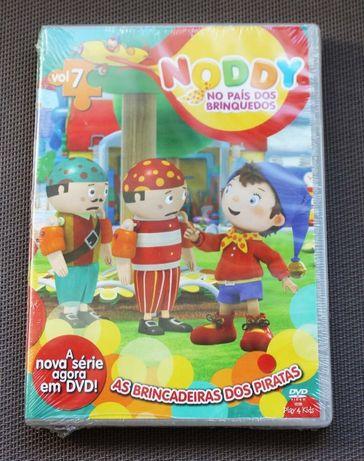 DVD Noddy volume 7: As brincadeiras dos piratas NOVO E SELADO