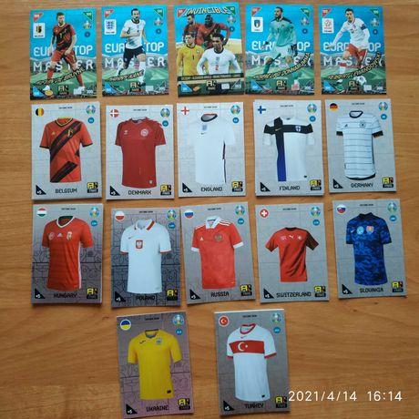 Zamienię karty Panini UEFA Euro 2020 Kick Off 2021 - Rare,