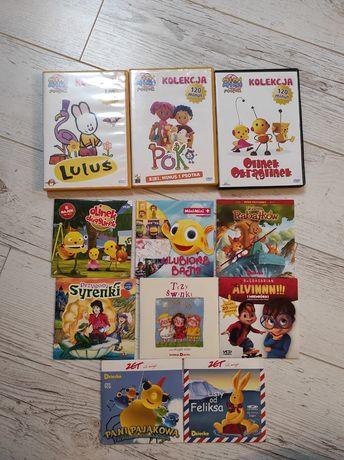 Poko Luluś Olinek Okrąglinek zestaw DVD