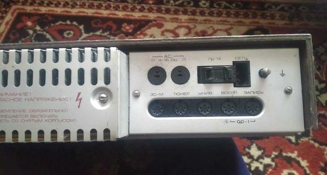 Продам усилитель Радиотехника 101 в комплекте с колонками