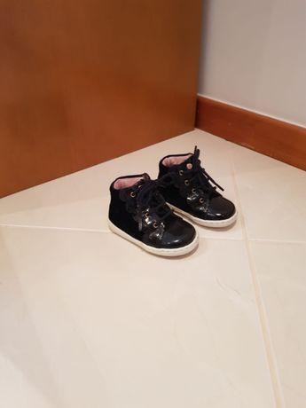 Sapatos Jacadi Verniz Azul