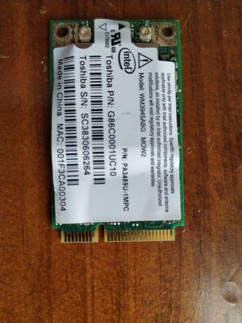 Placa WiFi intel PRO 39452 Mini PCI-E WLAN