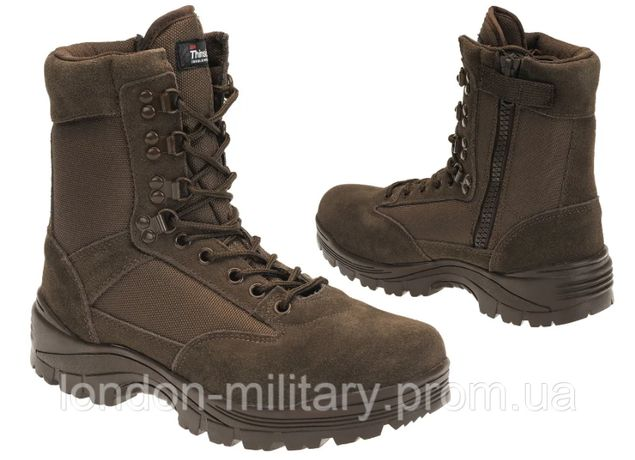 Берцы Ботинки Tactical BOOT ZIPPER YKK Thinsulate MIL-TEC р.38 - 48