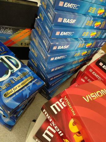 Kasety VHS (magnetowidowe)