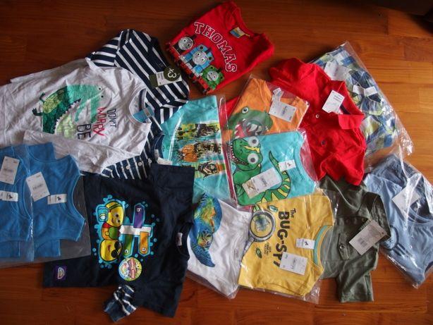 C&A bluzki koszulki 110-116 NOWE