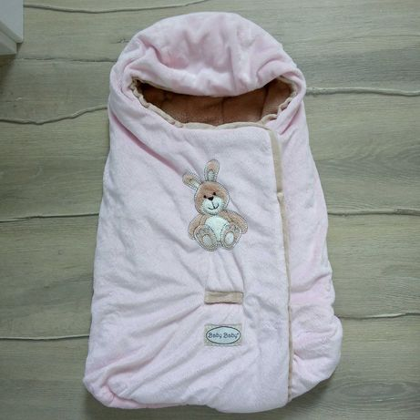 Ciepły śpiworek, kokon, otulacz do fotelika i wózka, śpiwór noworodek