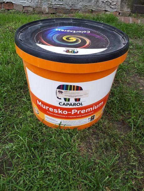 Muresko Premium CAPAROL Farba silikonowa