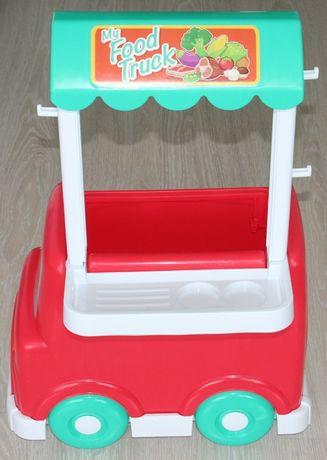 Samochód auto My Food Truck pojemnik autko Luna autka sztuki zestaw!