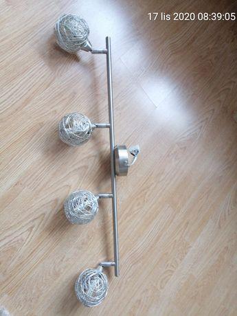 Lampa na sufit z żarówkami led