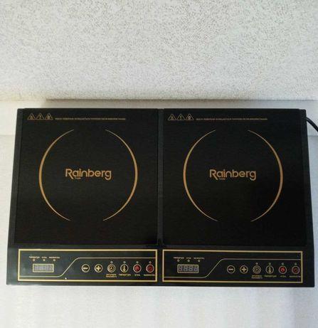 новая Rainberg Индукционная Оригинал Плита на 4200Вт 2 конфорки