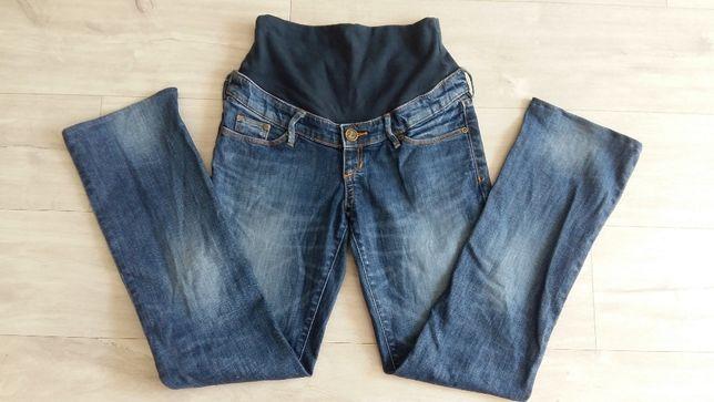 Spodnie jeansy ciążowe elastyczne H&M r.M