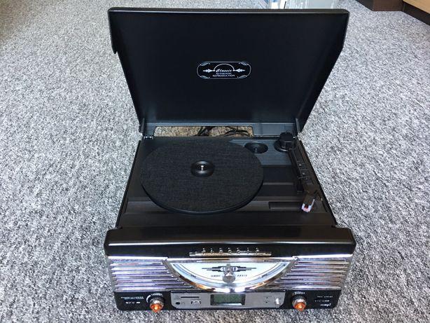 Radio Gramofon Maginon MP3 USB RETRO