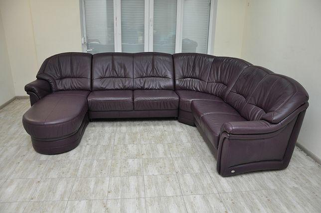 Кожаный диван, уголок! Из Германии! Диван домой, диван в офис! HIMOLLA