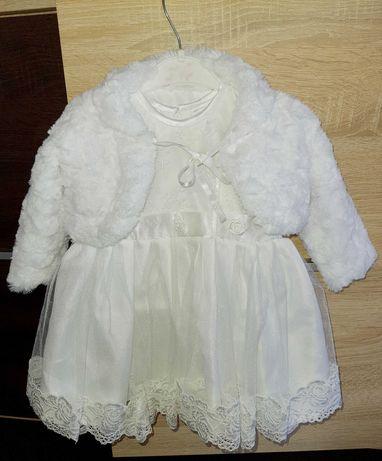 Ubranko do chrztu dla dziewczynki
