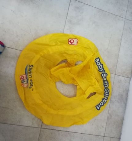 Koło do nauki pływania swim safe baby swim support