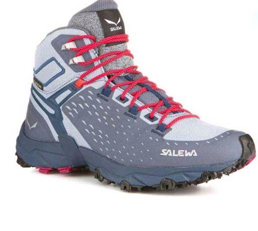 Трекинговые кроссовки Saleva Adidas gore-tex mammut north face nike
