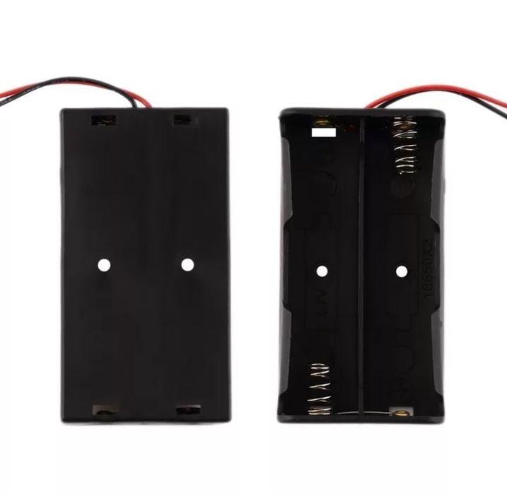 Батарейный отсек, держатель, холдер для 2 аккумуляторов 18650 Бурынь - изображение 1