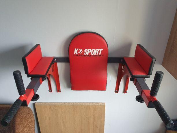 Poręcze do ćwiczeń mięśni brzucha i innych K-SPORT